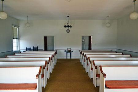 Interior of Brewster Chapel