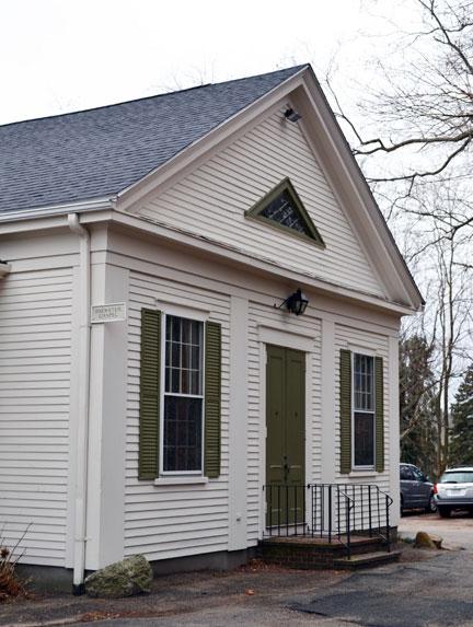 Brewster Chapel outside