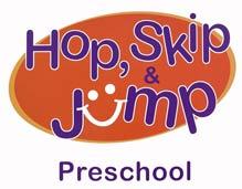 Hop, Skip and Jump Preschool logo