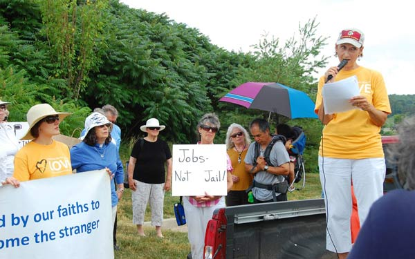 Marchers - Jobs, No Jail