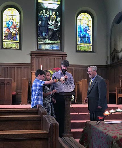 water communion with melvilles
